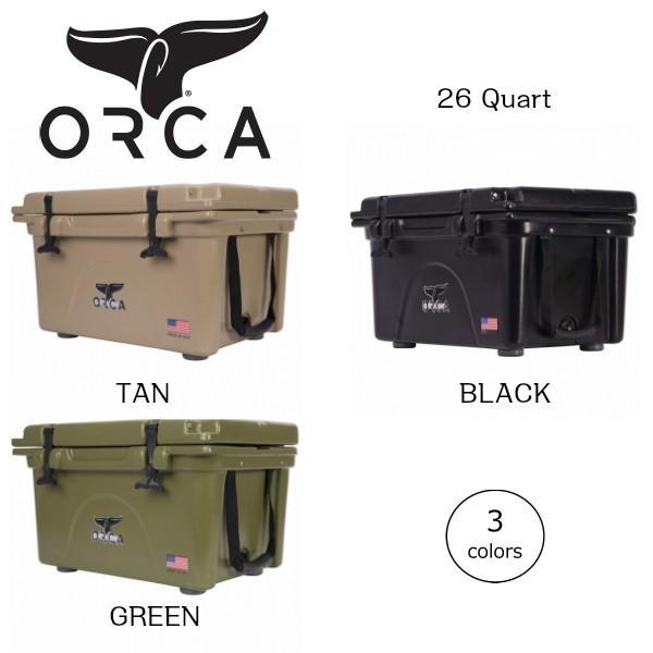 ORCA オルカ クーラーボックス 26 Quart キャンプ、ピクニック、釣りなどアウトドアで大活躍 outtail
