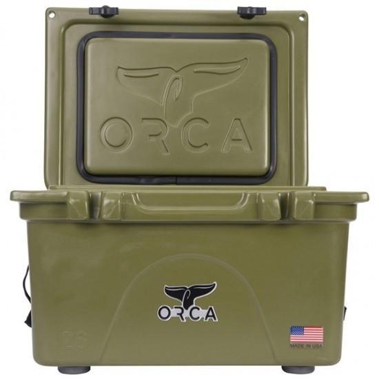 ORCA オルカ クーラーボックス 26 Quart キャンプ、ピクニック、釣りなどアウトドアで大活躍 outtail 04