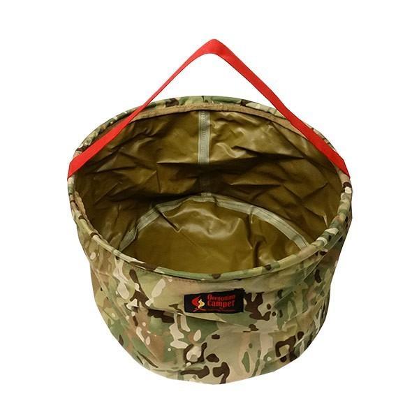 オレゴニアンキャンパー キャンプバケット (マルチカモ) 使い方いろいろ!キャンプで活躍する|outtail