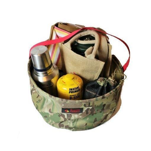 オレゴニアンキャンパー キャンプバケット (マルチカモ) 使い方いろいろ!キャンプで活躍する|outtail|02