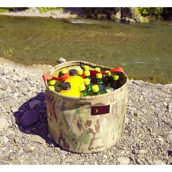 オレゴニアンキャンパー キャンプバケット (マルチカモ) 使い方いろいろ!キャンプで活躍する|outtail|04