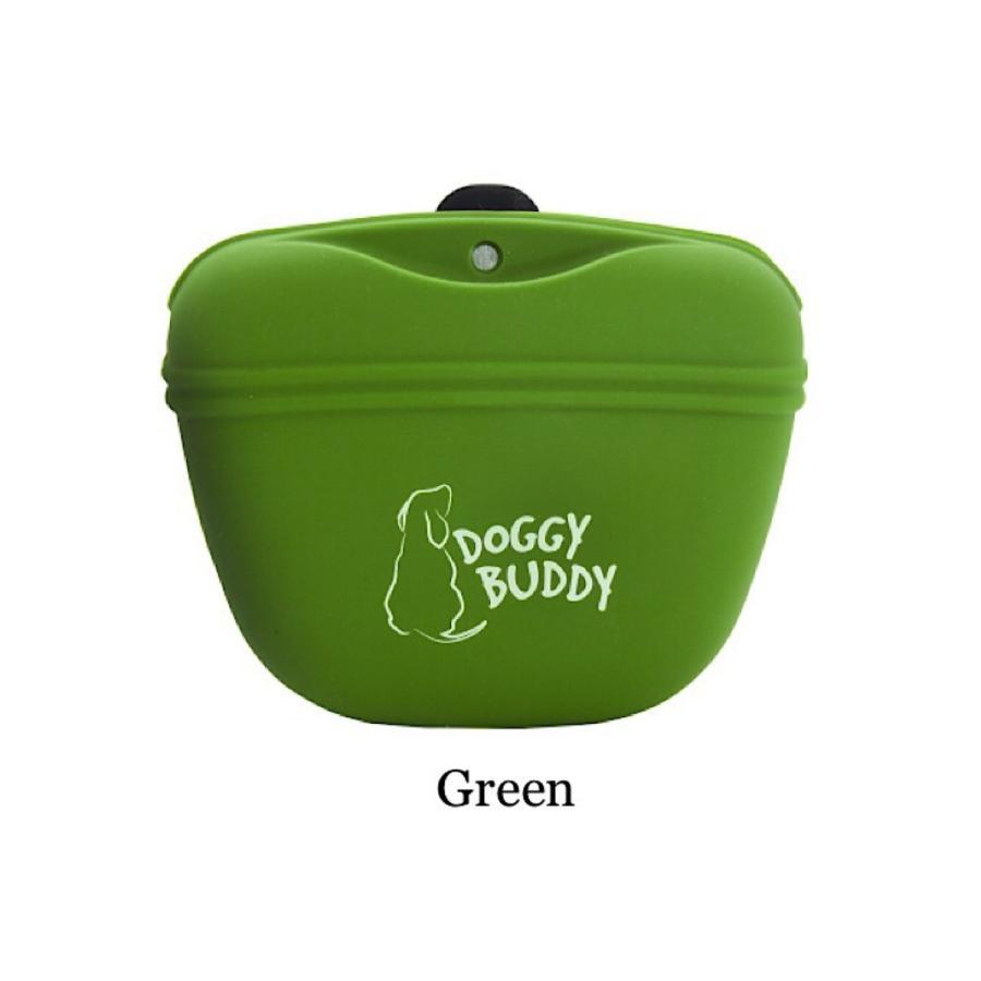 DOGGY BUDDY 本物◆ ドギーバディ 本日の目玉 トリーツポーチ 愛犬のトレーニングに使いやすい