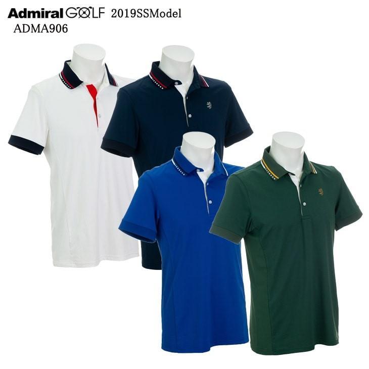 2019春夏/ADMIRAL/アドミラル/ADMA906/7Wポロシャツ/MINIMALISTミニマリスト/メンズ