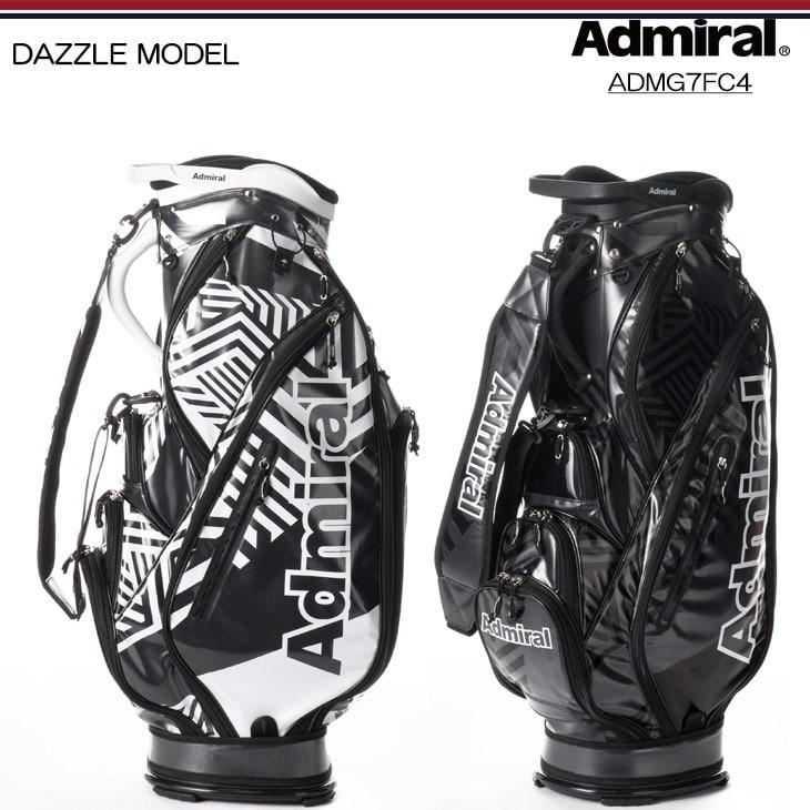 【2017FW/ADMIRALアドミラル】【ADMG7FC4】【DAZZLE_MODEL】【ダズルモデル/キャディバッグ】小平智・堀琴音