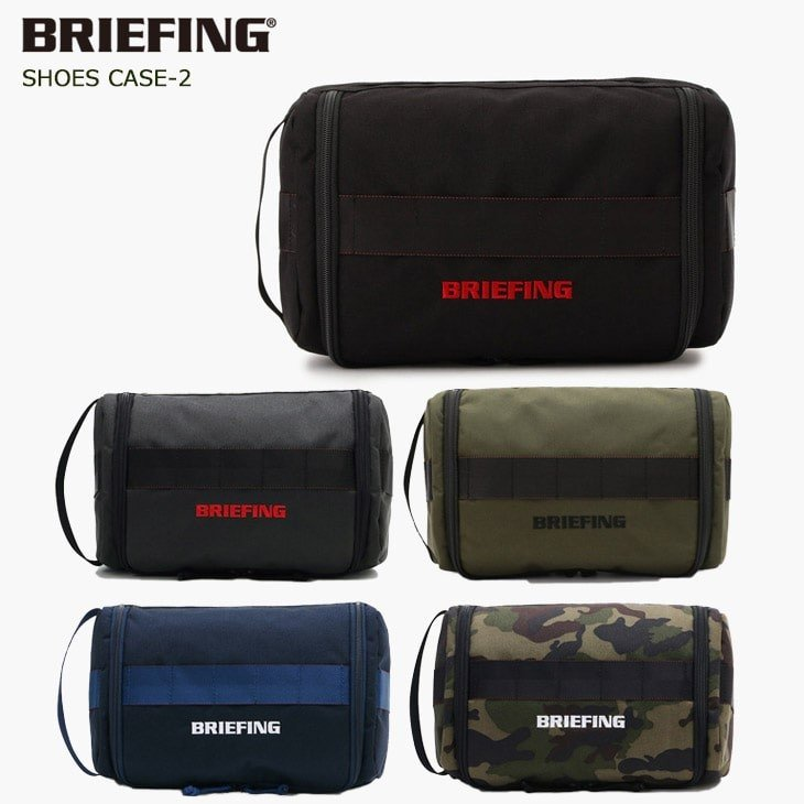 BRG191A13/SHOES_CASE-2/BRIEFING/ブリーフィングゴルフ/シューズケース/シューズサック