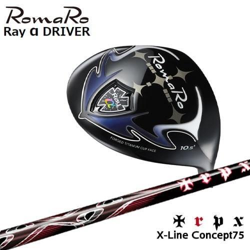 Ray_α(アルファ)ドライバー/2019モデル/RomaRo/ロマロ/X-Line_Concept_75/TRPX/トリプルエックス/OVDカスタムクラブ