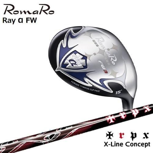 Ray_α(アルファ)フェアウェイウッド/2019モデル/RomaRo/ロマロ/X-Line_Concept/TRPX/トリプルエックス/OVDカスタムクラブ