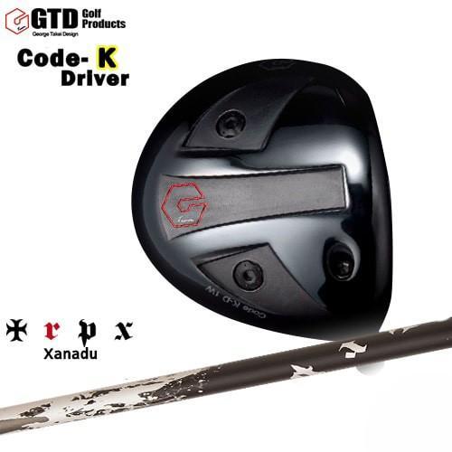 GTD_CODE-Kドライバー/George_Takei_Design/Xanadu/ザナドゥ/TRPX/トリプルエックス/OVDカスタムクラブ/代引NG