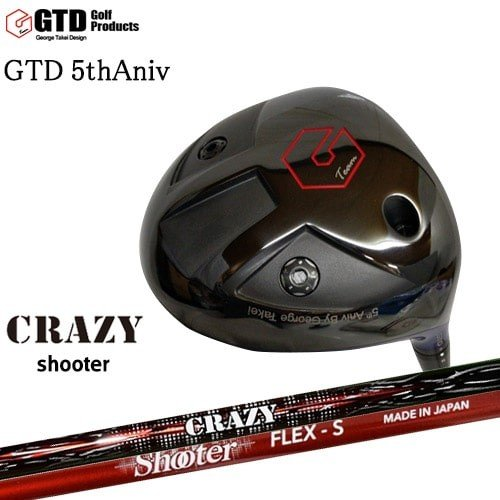 GTD_The_5th_Aniv_Model/5周年/Shooter/シューター/CRAZY/George_Takei_Design/OVDカスタムクラブ/代引NG【05P26Mar16】