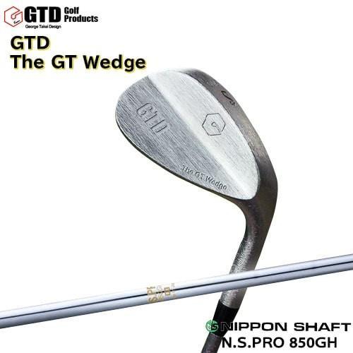 GTDゴルフ_ウェッジ/GTD_The_GT_Wedge(シルバー)/N.S.PRO_850GH/日本シャフト/カスタムクラブ/代引NG