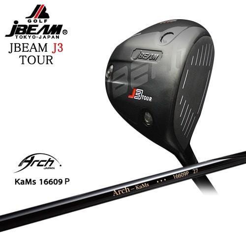 JBEAM/J3_TOUR_DRIVER/ジェイ3ツアー/16609P/ARCH_GOLF/アーチゴルフジャパン/OVDカスタムクラブ/代引NG