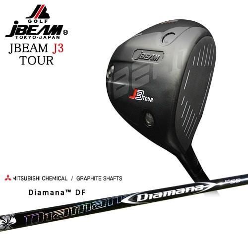JBEAM/J3_TOUR_DRIVER/ジェイ3ツアー/Diamana_DF/ディアマナ_DF/三菱ケミカル/OVDカスタムクラブ/代引NG