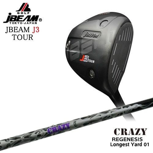 JBEAM/J3_TOUR_DRIVER/ジェイ3ツアー/Longest_Yard-01/ロンゲストヤード/CRAZY/クレイジー/OVDカスタムクラブ/代引NG