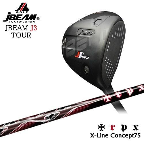 JBEAM/J3_TOUR_DRIVER/ジェイ3ツアー/X-Line_Concept_75/TRPX/トリプルエックス/OVDカスタムクラブ/代引NG