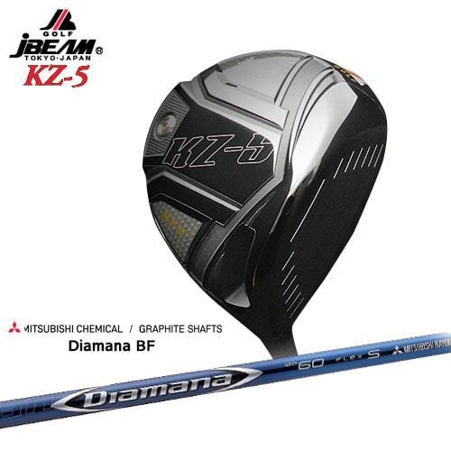 JBEAM_KZ-5_DRIVER/ジェイビーム/2019モデル/Diamana_BF/ディアマナ_BF/三菱ケミカル/OVDカスタムクラブ