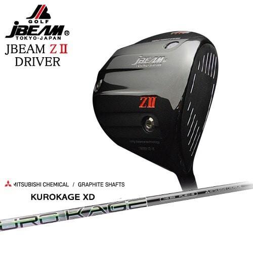 JBEAM_ZII_DRIVER/ジェイビーム/KUROKAGE_XD/クロカゲ_XD/三菱ケミカル/OVDカスタムクラブ