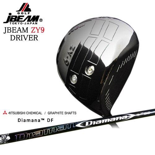 JBEAM_ZY-9_DRIVER/ジェイビーム/2019モデル/Diamana_DF/ディアマナ_DF/三菱ケミカル/OVDカスタムクラブ