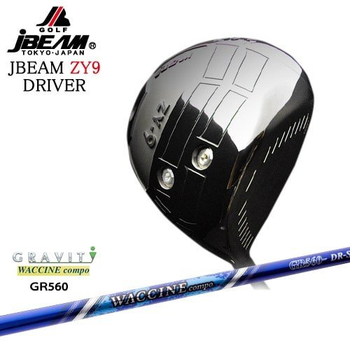 JBEAM_ZY-9_DRIVER/ジェイビーム/2019モデル/ワクチンコンポ_GR-560/GRAVITY/OVDカスタムクラブ