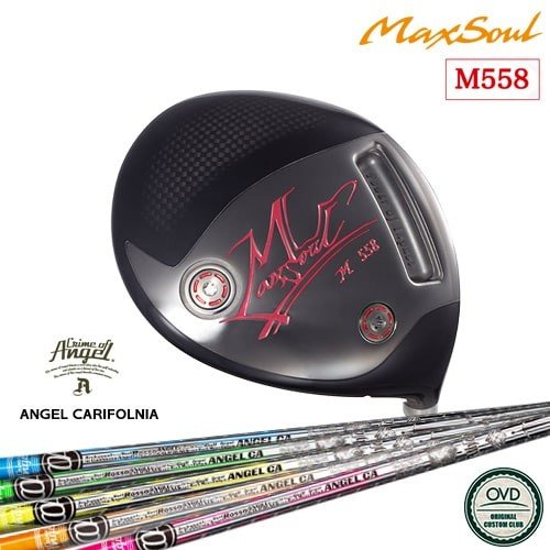 M558ドライバー/MAX_SOUL/マックスソウル/ANGEL_California/エンジェルカリフォルニア/CRIME_OF_ANGEL/OVDカスタムクラブ/代引NG