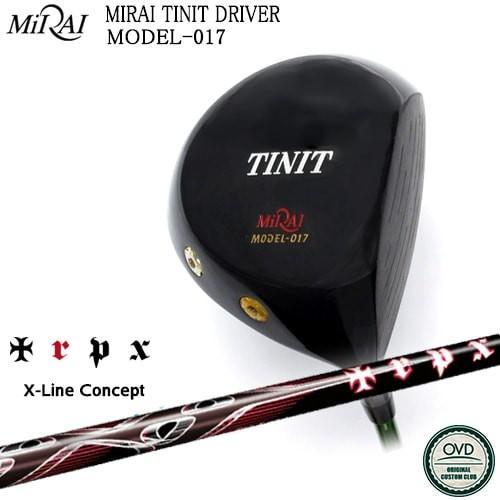 【Miraiゴルフ/MIRAI_TINIT_DRIVER/ティニット】【X-Line_Concept】【TRPX/トリプルエックス】【OVDカスタム】【代引NG】