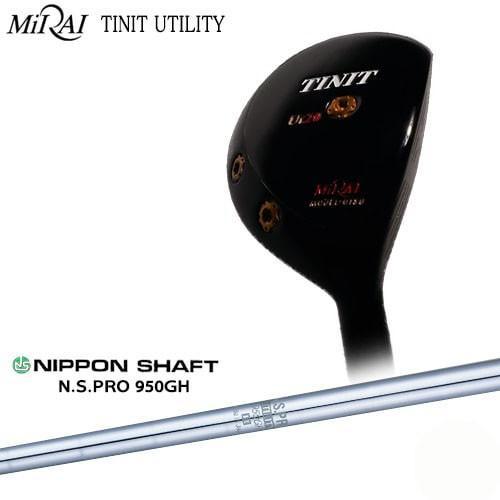 Miraiゴルフ/MIRAI_TINIT_UTILITY/ティニットユーティリティ/N.S.PRO_950GH/日本シャフト/OVDカスタムクラブ/代引NG