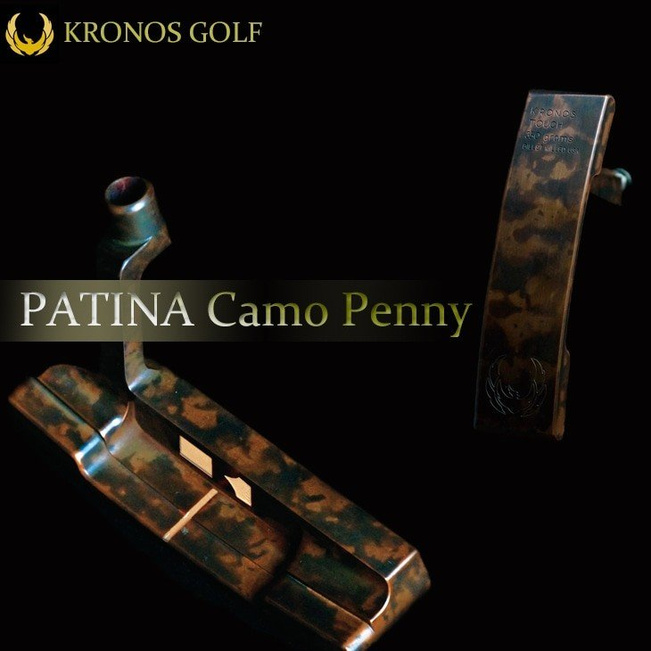 【KRONOS_GOLF/クロノスゴルフ】【PATINA_Camo_Penny/パティーナカモペニー】【世界20本】【34インチ/350g】【日本正規品】