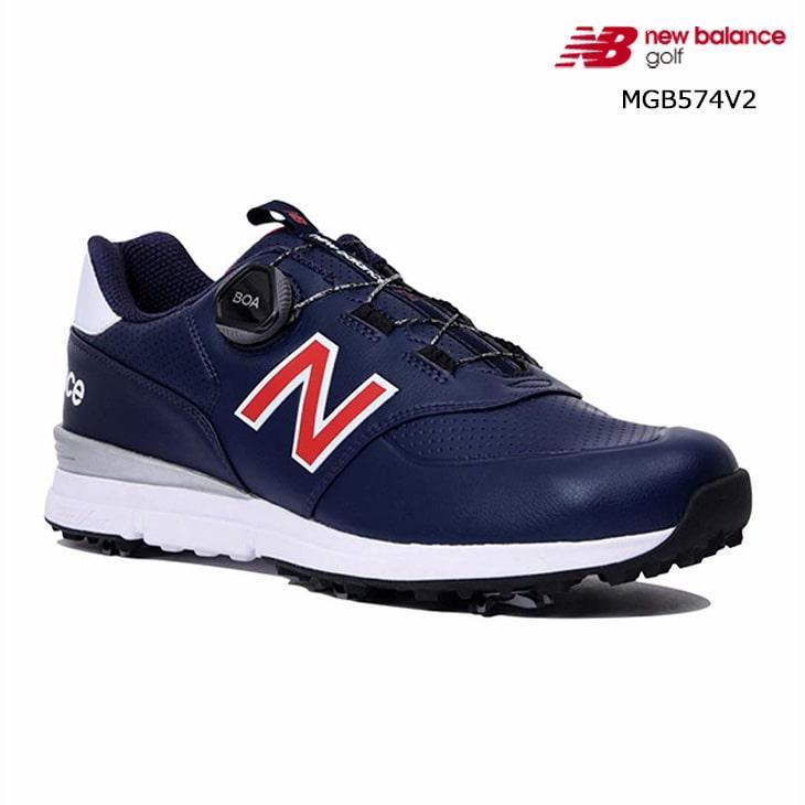 2019SS/New_Balance/ニューバランス/MGB574V2/NB_19SS_スパイクBOA_/ゴルフシューズ/トリコロール/メンズ/日本正規品