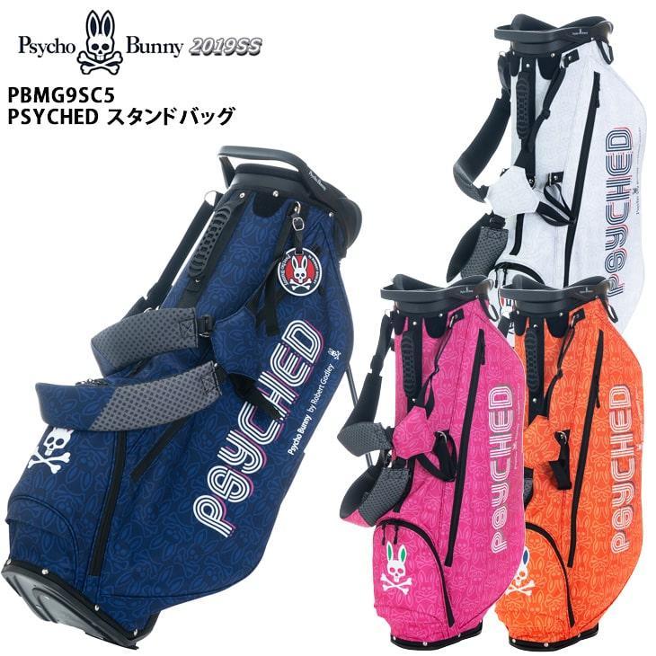 PsychoBunny/サイコバニー/2019SS/PBMG9SC5/PSYCHED_STAND_BAG/スタンドバッグ/キャディバッグ