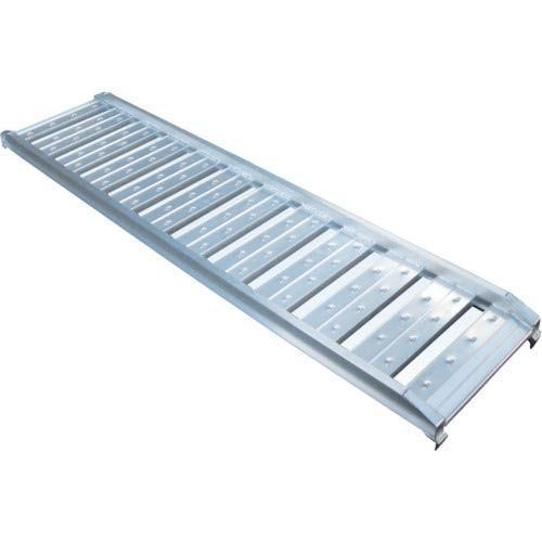 アルミブリッジ2本セット 長さ×有効幅:2120×400 耐荷重:1.2トン/61-7352-25