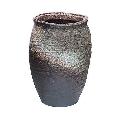 灰釉傘立 信楽焼 陶器 傘立て