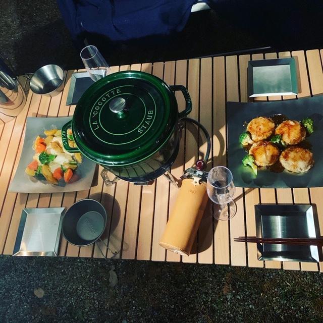 ステンレスプレート 小皿 取り皿 KUGAMI ※ヘアライン加工 バーベキュー・キャンプ、アウトドアに最適 overnorth-store