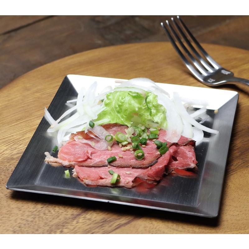 ステンレスプレート 小皿 取り皿 KUGAMI ※ヘアライン加工 バーベキュー・キャンプ、アウトドアに最適 overnorth-store 05