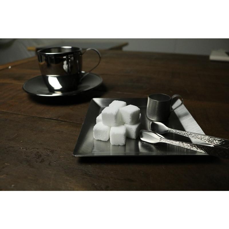 ステンレスプレート 小皿 取り皿 KUGAMI ※ヘアライン加工 バーベキュー・キャンプ、アウトドアに最適 overnorth-store 06