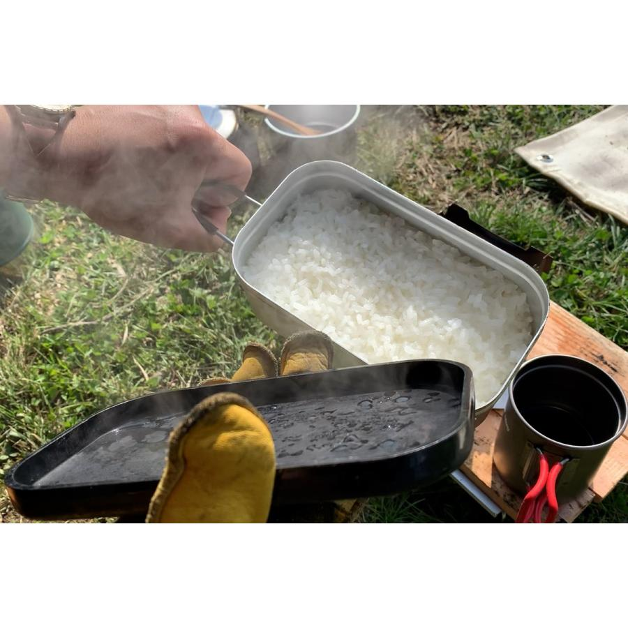 ロックパン(S)チタンハンドル付き アウトドア ソロキャンプ メスティン キャンプ飯|overnorth-store|04