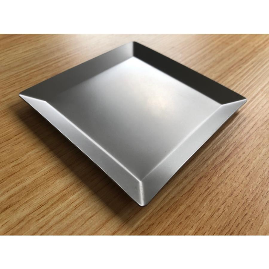 チタンプレート 小皿・取り皿 KUGAMI overnorth-store