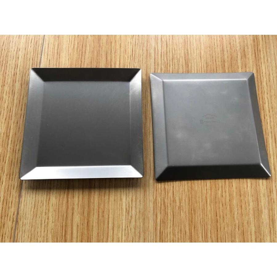 チタンプレート 小皿・取り皿 KUGAMI overnorth-store 05