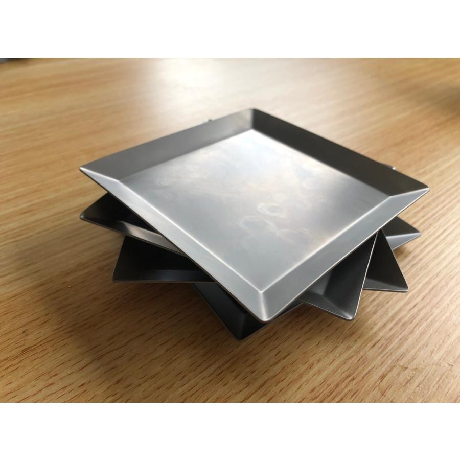 チタンプレート 小皿・取り皿 KUGAMI overnorth-store 06