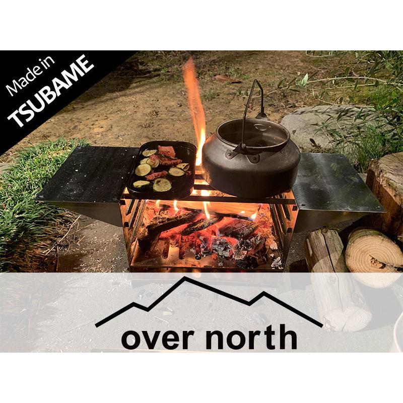 TAKIBI STOVE S(フルセットVer.)※「WARMING TABLE」あり ソロキャンプ バーベキュー|overnorth-store