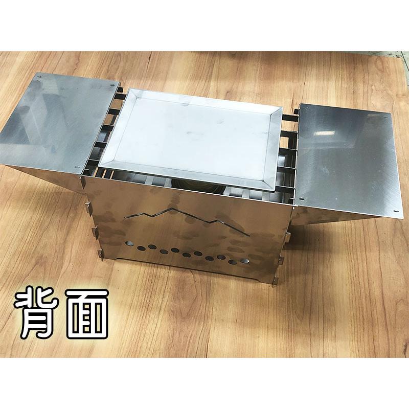 TAKIBI STOVE S(フルセットVer.)※「WARMING TABLE」あり ソロキャンプ バーベキュー|overnorth-store|05