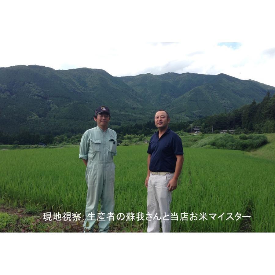 令和2年産 2kg精米 特別栽培米有機肥料 岐阜 飛騨下呂産 銀の朏(みかづき)   |owarinokomegura|09