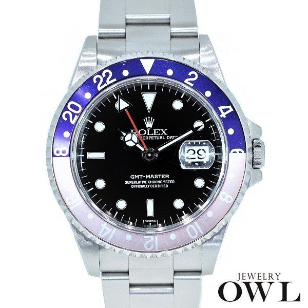 激安通販新作 ロレックス ROLEX GMTマスター 16700 16700 A番 ペプシ ROLEX GMTマスター ギャランティー メンズ 腕時計, 砥部町:5f15ac88 --- airmodconsu.dominiotemporario.com