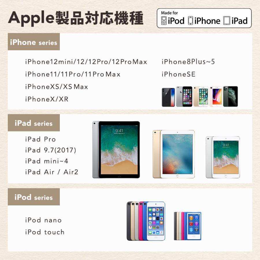 ライトニングケーブル iPhone Apple認証 最新チップ搭載 急速充電 超タフ 断線しにくい 1.5m 2m 2.4A owltech 11