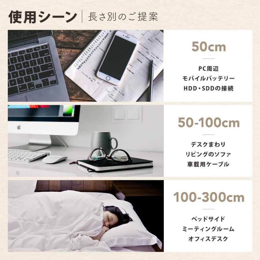 ライトニングケーブル iPhone Apple認証 最新チップ搭載 急速充電 超タフ 断線しにくい 1.5m 2m 2.4A owltech 10