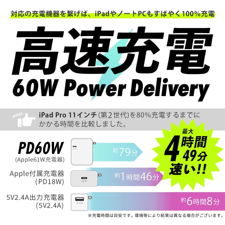 Type-C to Type-Cケーブル 充電ケーブル 1m 2m 温度センサー搭載 PowerDelivery対応 Quick Charge3.0対応 やわらか MOTTERU|owltech|06