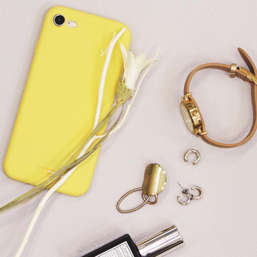 iPhoneケース やわらか ウォーターシリコン 背面ケース マット sofumo MOTTERU|owltech|07