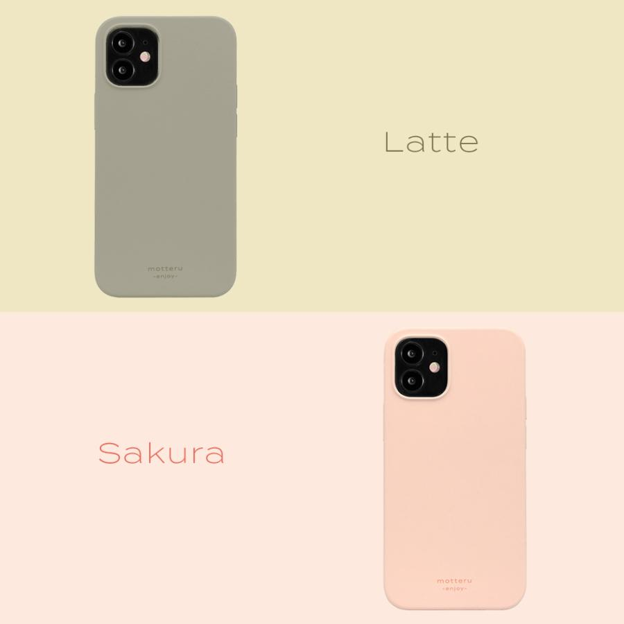 iPhoneケース やわらか ウォーターシリコン 背面ケース マット sofumo MOTTERU|owltech|09