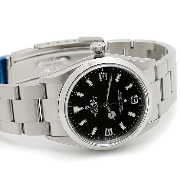 人気が高い ロレックス 美品 エクスプローラ1 114270 Z品番 メンズ 自動巻 メンズ Z品番 磨き済 腕時計 美品, ぱーそなるたのめーる:30a6e30d --- odvoz-vyklizeni.cz