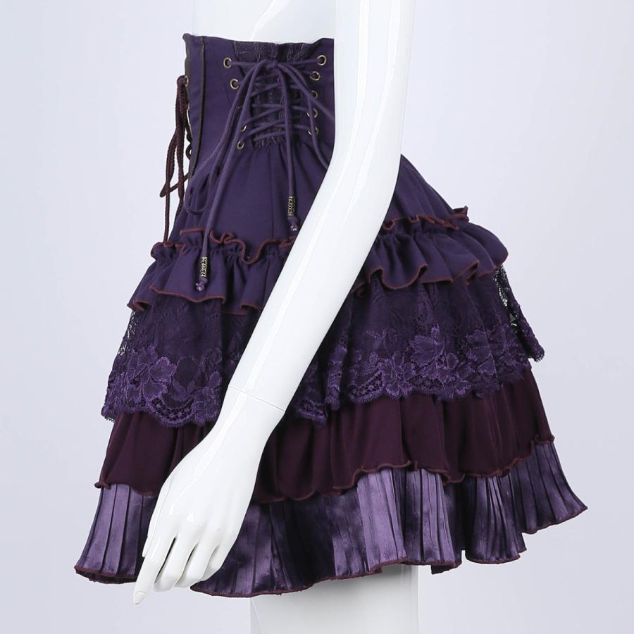 蝶刺繍フリルミニスカート3231608f|ozzonjapan|03