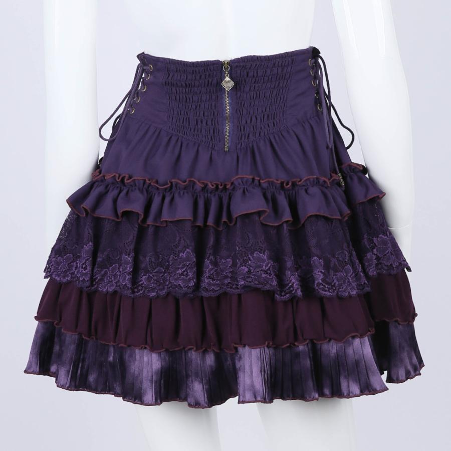 蝶刺繍フリルミニスカート3231608f|ozzonjapan|04
