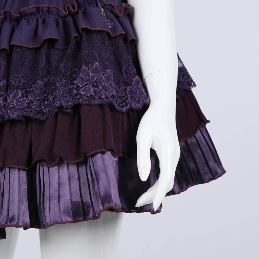 蝶刺繍フリルミニスカート3231608f|ozzonjapan|05